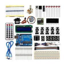 Ultimate Starter Learning Kit for Arduino UNO R3 1602 LCD Servo Motor Breadboard