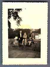 Belgique, Binche Vintage silver print.  Tirage argentique  7x10  Circa 195