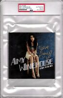 "AMY WINEHOUSE Signed Autographed ""Back To Black"" CD Cover Slabbed PSA/DNA"