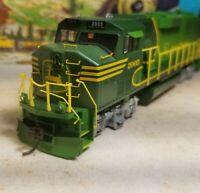 Athearn  John Deere gp60m rtr series locomotive train engine HO  hex drive