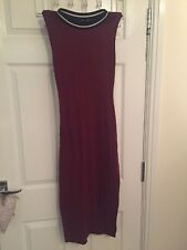 Maroon Maxi Dress, Size 8 (New Look)