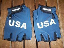 Original USA National Team Handschuhe Rennrad MTB Größe Medium NEU Rar