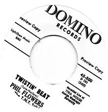 PHIL FLOWERS   TWISTIN' BEAT / MOVE ON   DOMINO Re-Iss/Re-Pro   R&B/MOD/NORTHERN