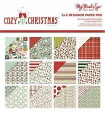 "My Mind's Eye ""Cozy Christmas"" 6x6"" Designer Cardstock Paper Pad"