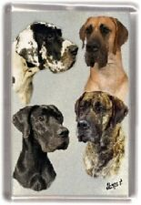 Great Dane Fridge Magnet Design No 1 by Starprint