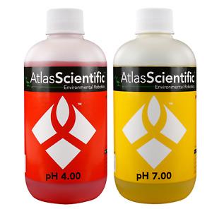Atlas Scientific pH Calibration Solution 4.00 & 7.00 250ml (8oz)