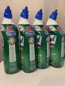 Lysol Bleach Toilet Bowl Cleaner With 10X Cleaning Power 24 oz (Value Pack of 4)