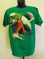 NEW STAR WARS CLONE WARS YODA graphic tee YOUTH SIZE XL XLARGE T-SHIRT