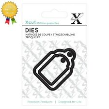 Xcut Metal Dies *GIFT TAGS* 2 Piece - by DoCrafts - Die Cutting - Labels