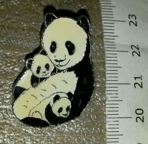 Panda Bear holding its babies baby Pin