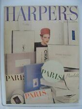 HARPER`S BAZAAR SEPTEMBER 1962 PARIS COUTURE DIOR,BALMAIN,YSL,CARDIN ETC.