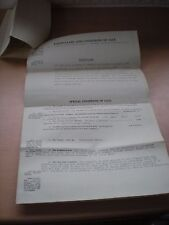 Particulars & Conditions Of Sale Of DEVENEY,Kings Lynn in 1936 Goddard & Lindsey