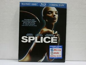 SPLICE BLU RAY+DVD COMBO PACK BNEW SEALED