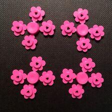 LEGO. Pink Flower Heads 4x4.