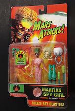 MARS ATTACKS Martian Spy Girl Trendmasters Unopened Action Figure 96 Tim Burton