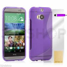 Fundas y carcasas Para HTC One color principal morado para teléfonos móviles y PDAs HTC