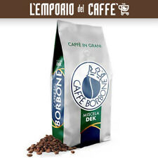 3 Kg Caffè Borbone in Grani Beans Miscela Dek caffe Decaffeinato Verde