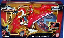 Power Rangers Mystic Force Red Ranger Action Dragon DVD Factory Sealed 2006