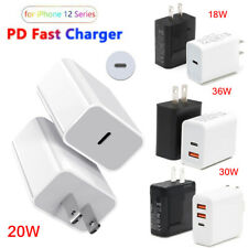 30W/20W/18W USB Type-C Wall Fast Charger PD Power Adapter For iPhone 12 Pro Max
