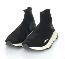 82-60 $795 Men's Sz 8 M Balenciaga Speed Textile Sock Sneaker In Black