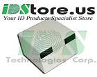 100 Blank White PVC Cards, CR80, 30 mil, GQ, 3-Tracks HiCo 2750 Magnetic Stripe