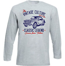 VINTAGE ITALIAN CAR FIAT SIATA SPRING - NEW COTTON T-SHIRT