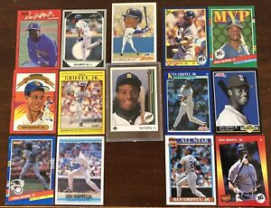 Valuable Ken Griffey Jr lot!! With the big card! Upper Deck rookie!!!Great cndtn