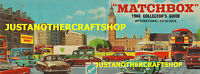 Matchbox Toys 1966 Catalogue Cover Large Poster Advert Shop Sign Leaflet