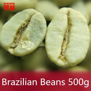 500g Brazil Green Coffee Beans 100% Original High Quality Green Slimming Coffee