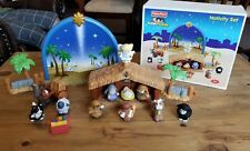 Fisher-Price Little People Nativity Set 2008 Complete With Box N6010 Euc