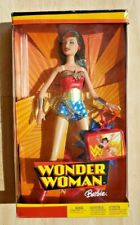 "Wonder Woman Barbie Doll 12/"" Boxed Set New 2003 Mattel DC Comics Amricons"
