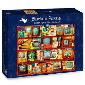 Bluebird Jigsaws 1000 pieces - Golden Age of Television - Shelf NEW
