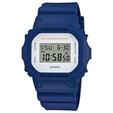 Casio G-Shock Men's DW5600M-2 Quartz Digital Military Blue Resin 43mm Watch