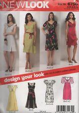 New Look 6750 Womens Dress 7 Styles Size 8 - 18