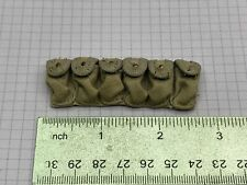 "1/6 Soldier Story 12"" Figure Military WWII Grenade Carry Pouch belt Ranger"