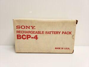 Vintage Sony Rechargeable 12v Battery Pack BCP-4 TV USA NIB HTF
