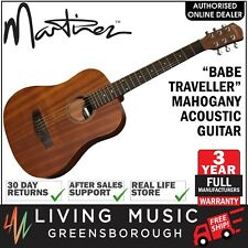 NEW Martinez Babe Traveller Mahogany Acoustic Mini Travel Guitar