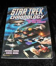 The Star Trek Chronology by Denise Okuda & Michael Okuda(1993, Paperback)