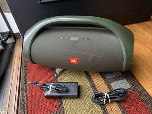 JBL Boombox Portable Bluetooth Speaker - forest Green