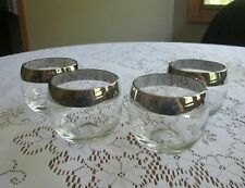 4 Dorothy Thorpe  Roly Poly Glasses w/ wide Silver Band