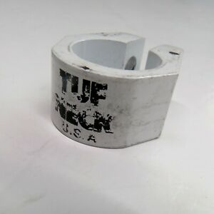 Tuff Neck 1 inch NOS BMX Seat Post Frame Clamp White