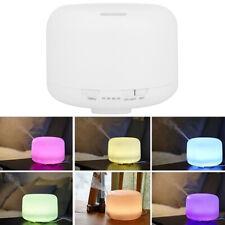 Aroma Diffuser Ultraschall Mini Luftbefeuchter LED Lichter 500ml