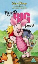 THE PIGLET's BIG MOVIE DVD WINNIE THE POOH AND FRIENDS MOVIE WALT DISNEY PIGLETS