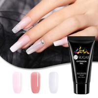 UR SUGAR 50ml Quick Extension Gel Pink Clear UV LED Building Gel Nail Art Tips