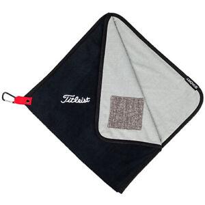 """Titleist StaDry Performance Towel NEW Golf Accessory 17""""x17"""" TA9SDPTWL"""