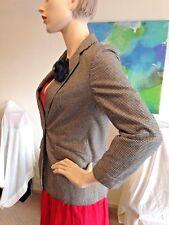 KATIES by bobbie brooks Fab Lined Vintage Blazer/Jacket, Sz 8-10, +Flower Brooch