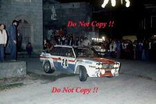 Michele Mouton Fiat 131 Abarth Tour de Corse Rally 1979 Photograph 1