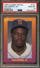 1989 Classic Travel KEN GRIFFEY JR. Rookie #131 PSA 10 Gem Mint