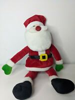 Santa Claus Keel Toys Moveable Arms And Legs Plush