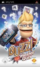 Playstation Sony PSP BUZZ MASTER QUIZ * DEUTSCH * Top Zustand